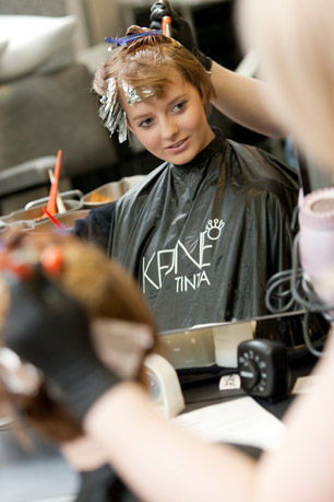 Students Apply Foils and Colour