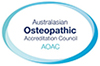 Australasian Osteopathic Accreditation Council logo