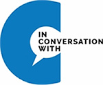 'In conversation with...' logo