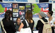 Students and recruiters at Careers Fair