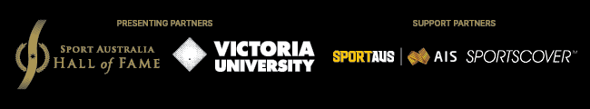 Lgos of Sport Hall of Fame, Victoria University, Sport Aus, AiS, Sportcover