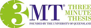 3MT (Three Minute Thesis) Founded by the University of Queensland