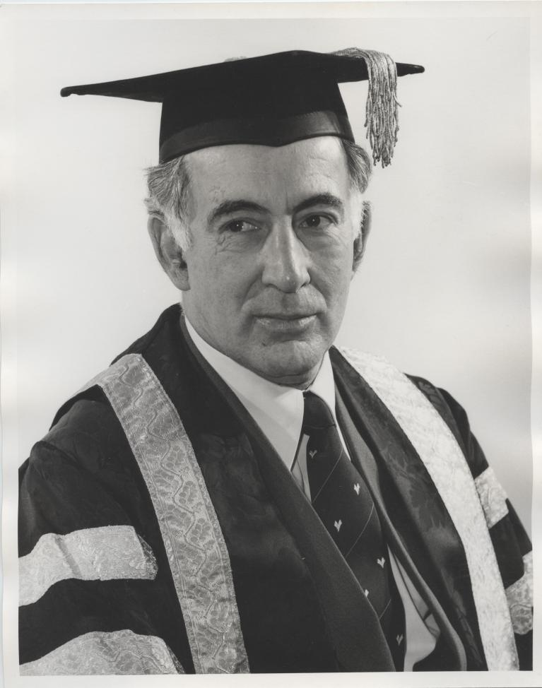 Picture - Sir Zelman, Vice-Chancellor at the University of Queensland