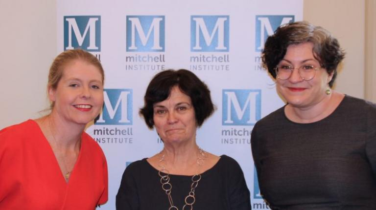 Professor Jane Bertrand visits Mitchell Institute