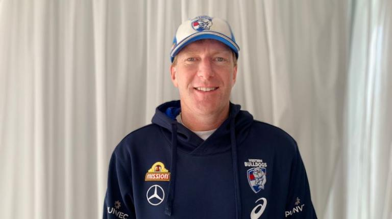 Mat Innes, long-time physical performance manager at the Western Bulldogs, and a VU alumnus