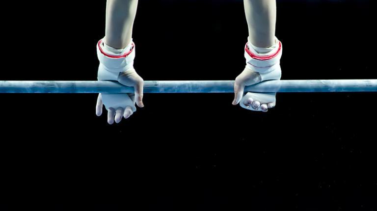 Gymnastics high bar, image by Annia Klara, Pixabay