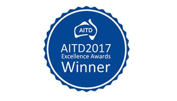 AITD 2017 Excellence Awards Winner logo
