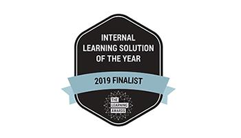 Internal Learning solution of the Year 2019 finalist logo