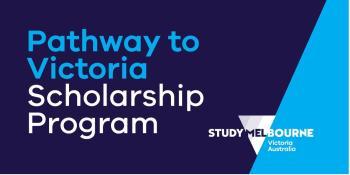 Pathway to Victoria Scholarship program logo