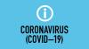 Information symbol and the words Coronavirus (COVID-19)