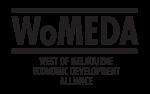 WoMEDA (West of Melbourne Economic Development Alliance) logo