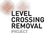 Level crossing removal project logo